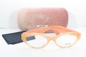bc32b3d253d Miu Miu Women s Orange Glasses with case VMU 03M QFI-1O1 52mm ...