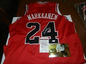 Image is loading Lauri-Markkanen-Autographed-Signed-Custom-Jersey-JSA- WITNESS- 4b511dafc