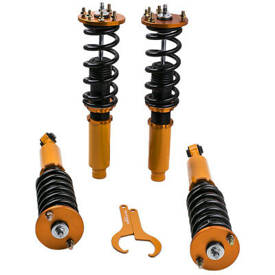 Assembly Coilovers for Accord 1998-2002//Acura TL 1999-2003//Acura CL 2001-2003 Suspension Spring Strut Shock Absorber with Adjustable Damper