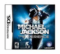 Michael Jackson The Experience - Nintendo Ds Disc Free Shipping