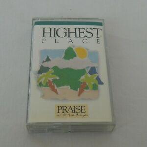 Hosanna Music Praise Worship Highest Place Cassette 1991 Bob Fitts Christian