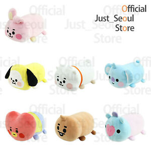 Official-BTS-BT21-Baby-Lying-Plush-Doll-Cushion-Freebie-Tracking-Authentic-MD