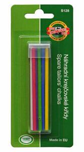 KOH-I-NOOR S128T08000BL Tailor's Chalk 1 x  6 refills