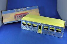 Plasticville - O-O27 - #DE-7 Diner - Chrome - Complete - Excellent Cond. Box