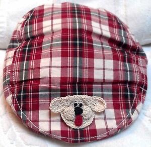 GYMBOREE NEWSBOY GOLF HAT BOYs BABY NEWBORN INFANT TODDLER 3 6 9 12 ... f400a7fea96