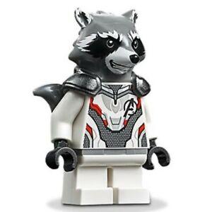 Lego Rocket Raccoon 76126 Jumpsuit Avengers Endgame Super Heroes Minifigure