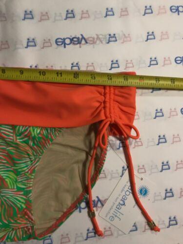 NWT UPF Cabana Life Palm Breeze Fold Over Bikini Bottom XL 50