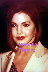 PRISCILLA-PRESLEY-GORGEOUS-SEXY-RED-ROSE-LIPS-3-12-98-ELVIS-PRESS-PHOTO-CANDID