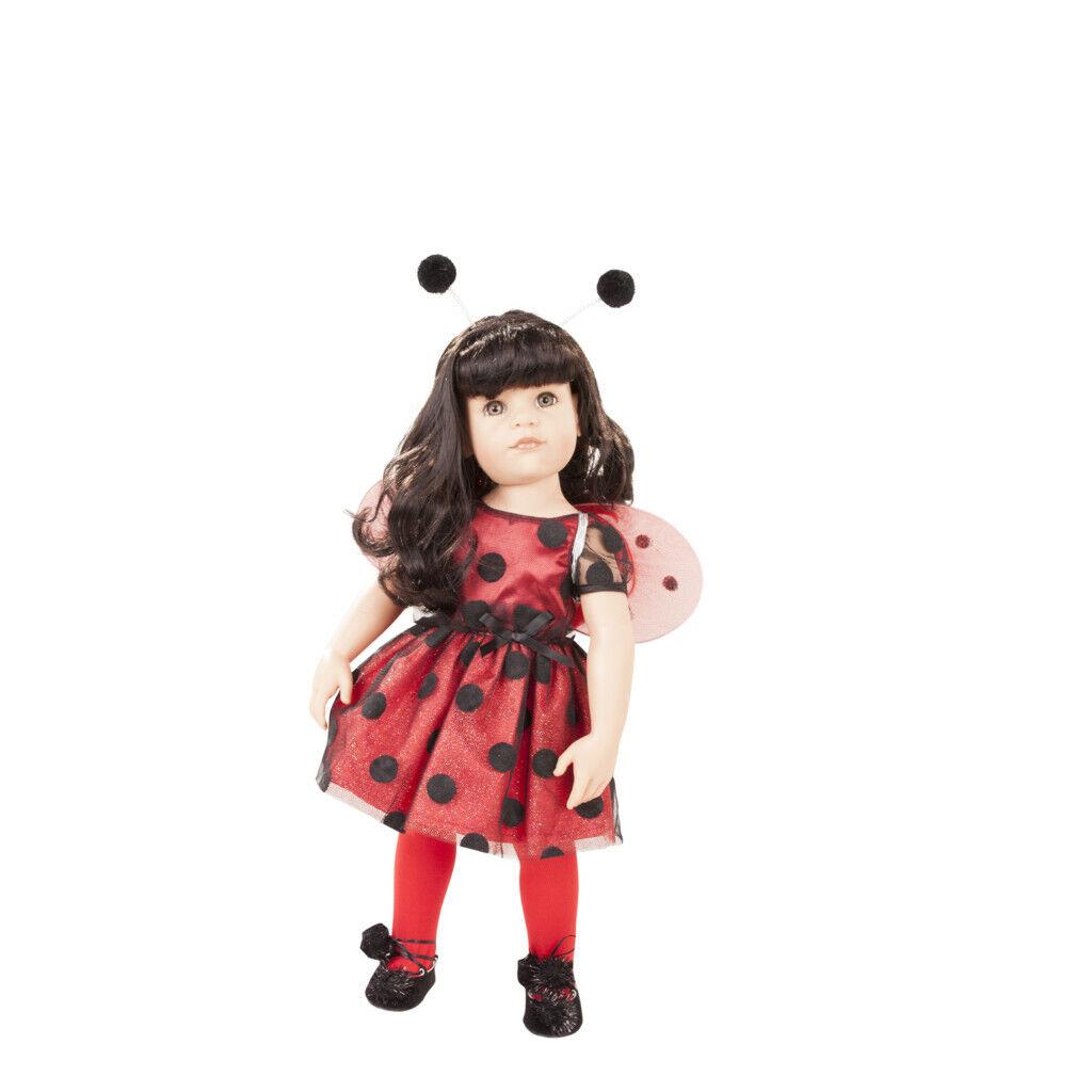 Gotz Bambola Bambola Bambola Hannah Ladybug 50cm 381880