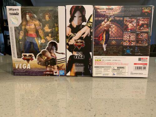 Bandai Tamashii Web S.H Figuarts Vega Street Fighter V USA