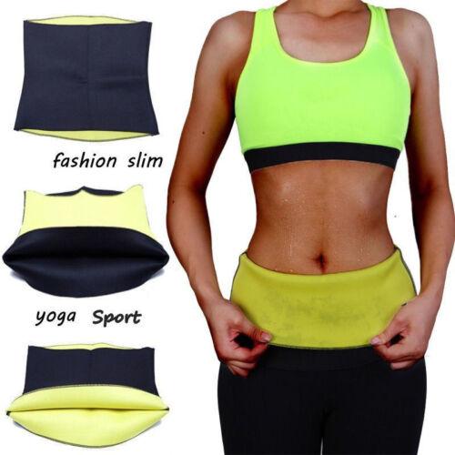 Yoga Sport Slim Waist Trainer Sweat Belt Sauna Wrap Body Shaper Belly Fat Burner