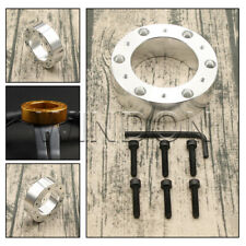 25mm SILVER SPACER for aftermarket steering wheel boss hub kit adapter