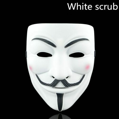 1PCS 8 Style Party Masks V for Vendetta Mask Anonymous Guy Fawkes Fancy Adult