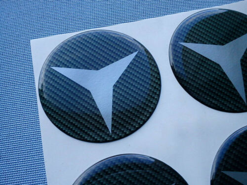 string 55c 4x Carbon Lock emblèmes pour moyeu bouchons jantes couvercle 55mm Autocollant