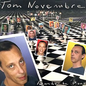 Tom-Novembre-CD-Single-Bande-De-Pions-Promo-France-VG-M