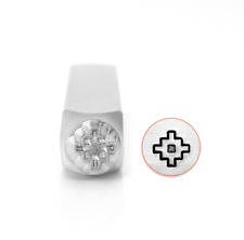 Metal stamp, punch, Chacana, (or Inca Cross) 6mm, jewellery stamping