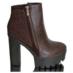 Stiefel Stiefeletten Ankle Boots High Heel Hoher Absatz