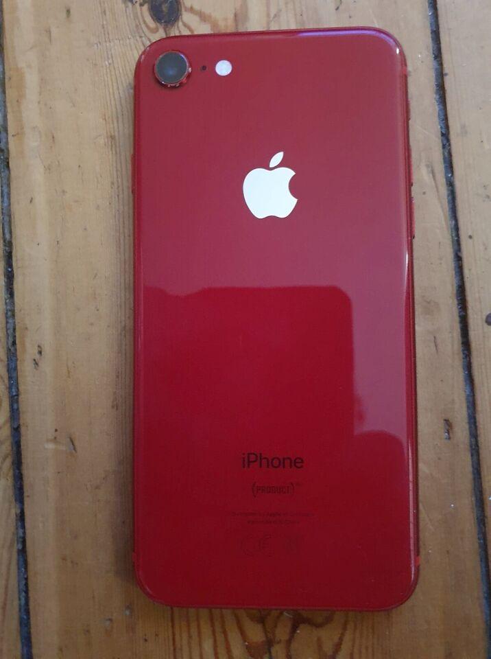 iPhone 8, 64 GB, rød