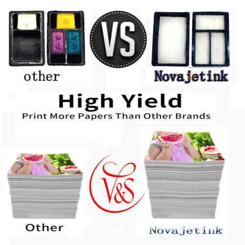3Pack 63XL Black /& Color 63 xl Ink Cartridges for HP OfficeJet 5255 5258 3830