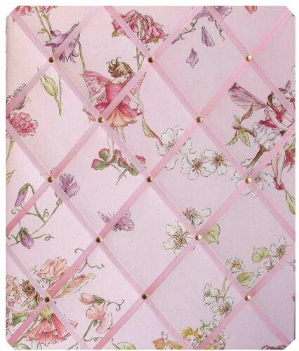 Pin Board avis Message Board Memo Board en Fleur Fées Tissu