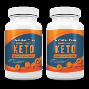 2 PACK Keto GT Pills Weight Loss Diet goBHB Ketogenic Supplement Men Women