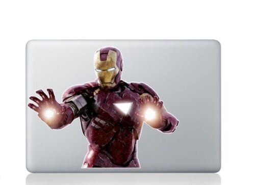 5d4b7005d515 Iron Man Color Sticker Decal Vinyl Cover Apple Macbook Air & Pro&Retina13