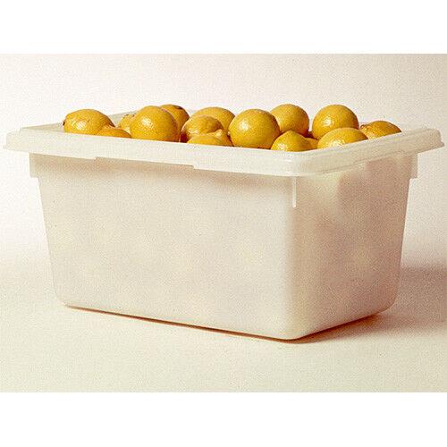 Rubbermaid Food Tote Box, White, 18  x 26