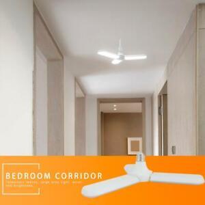 Home-E27-45W-180LED-85-265V-Luz-de-garaje-plegable-Bombillas-de-corriente-constante
