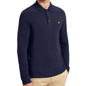 cd032bf49177 LYLE AND SCOTT MENS LONG SLEEVE POLO SHIRT LP400VTR - SIZE SMALL ...