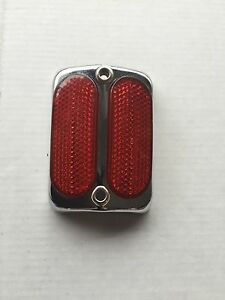 Bicycle-reflector-taillight-fits-Schwinn-Elgin-Columbia-Stimsonite-any-cruiser
