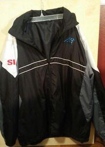 Football-nfl Sports Illustrated Zip Up Windbreaker Jacket Xl Sports Mem, Cards & Fan Shop