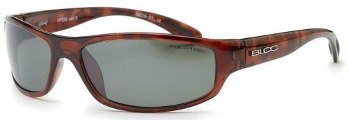 BLOC HORNET PT22 Mens//Womens POLARISED Sunglasses SHINY TORT GREEN CAT.3