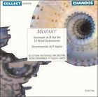 Mozart: Serenade in B flat for 13 Wind Instruments; Divertimento in F Major (CD, Aug-1993, Chandos)