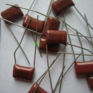 50pc Metallized Polypropylene Film Capacitor 0.01uF 630V fr vintage radio amps