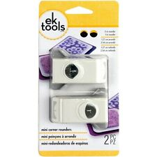 """CORNER ROUNDER 1/2"""" and 1"""" Small Large 2pc Slim Paper Punches Set by EK Success"""