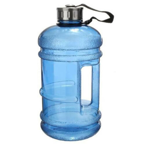 PETG Material Outdoor Sports Gym Space Half Gallon Fitness Camping Water Bottle