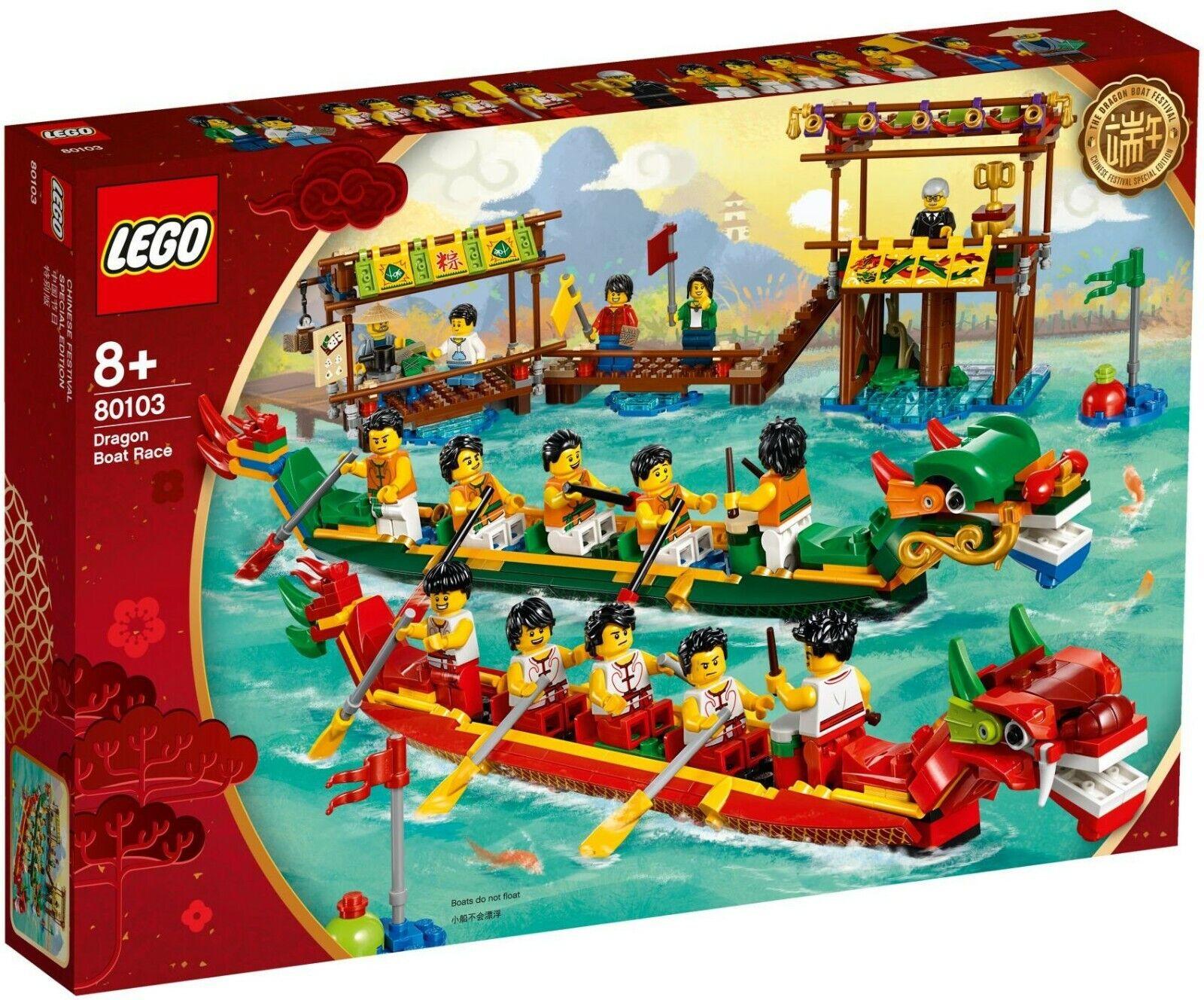 LEGO Saison   Seasonal 80103 - Dragon Boat Race - Collector Asia 2019 - 100% NEW
