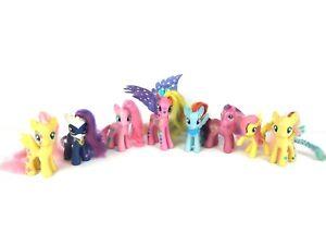 My Little Pony Friendship Is Magic 3 Ponies Lot Of 8 Brushable Hair Mlp Hasbro Ebay