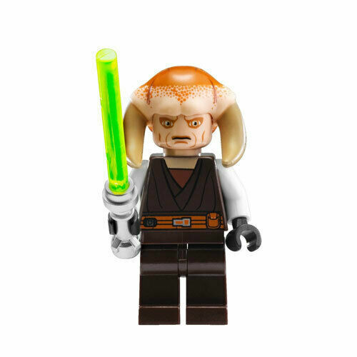 Lego SAESEE TIIN 9498 7931 Jedi Master Knight Lightsaber Star Wars Minifigure