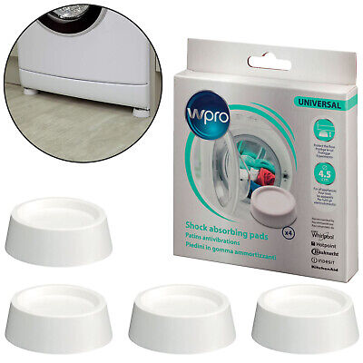 4x Anti Vibration Feet Creda Washing Machines Tumble Dryers Shock Absorbers