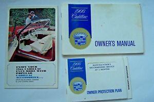 1966 cadillac owners manual eldorado fleetwood devil used original rh ebay com 1970 Cadillac 1968 Cadillac
