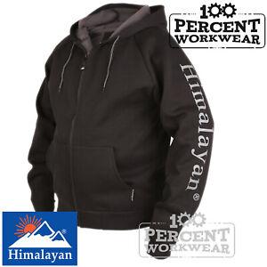 Full-Zip-Heavyweight-Warm-Snug-Hooded-Top-Hoody-Sweatshirt-Hoodie-Work-Tradesman