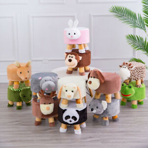 Peachy Details About Animal Footstool Ottoman Wood Chair Seat Sofa Couch Footrest Stool Foot Rest Machost Co Dining Chair Design Ideas Machostcouk