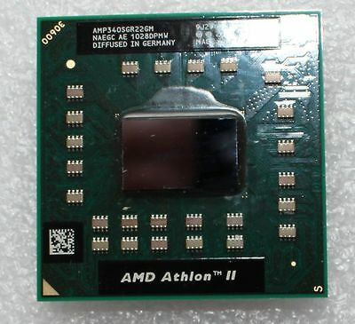 Toshiba C655D AMD Athlon II P320 2.2GHz Dual Core Laptop processor AMP320SGR22GM