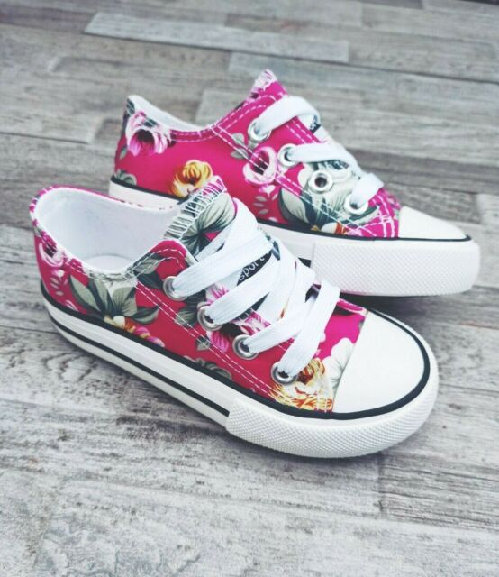 Converse Infant Toddler Size 3 Pink