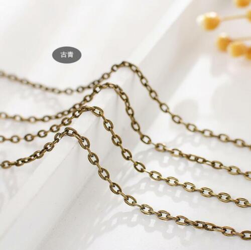 5M Collar de Cadena de Joyería Haciendo hágalo usted mismo pendientes extender Joyería Accesorio Crafts