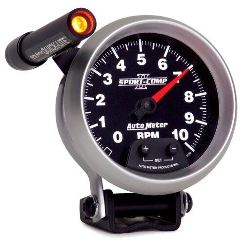Electrical 3-3//4 in. Autometer 3690 Sport-Comp II Tachometer Gauge