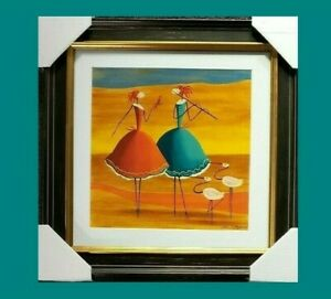 ESTHER-MYATLOV-034-Companions-034-2-550-Hand-Signed-Limited-Edition-Art-Serigraph