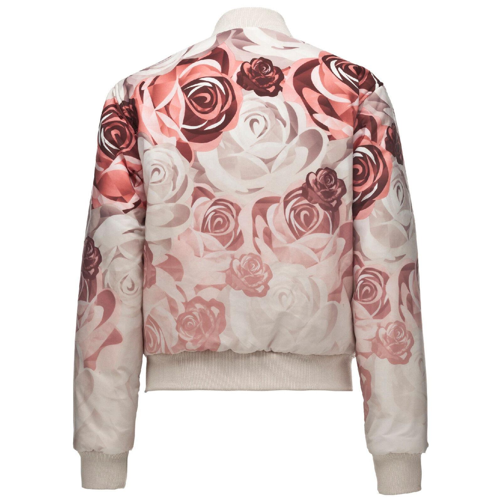 92de1d9eb PUMA X Careaux Reversible Bomber Pink/champagne Flowers Wom XS ANB