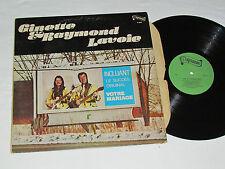 GINETTE & RAYMOND LAVOIE Self-Titled LP Paysanne P-2003 Quebec VOTRE MARIAGE+